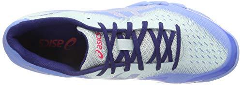 Blue Blade Squash Gel Bleu Femme Asics Chaussures 400 6 de Bell Silver S81O1Bqx