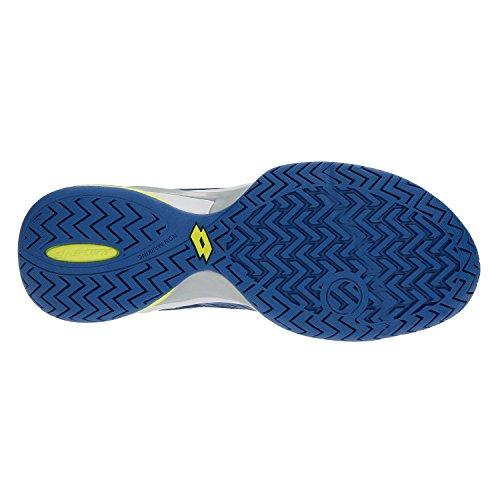 Lotto Zapatillas de Tenis de Material Sintético Para Hombre Azul Blu Oil/White