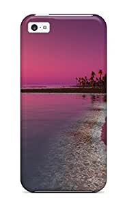 Premium Twilight Sunset Heavy-duty Protection Case For Iphone 5c