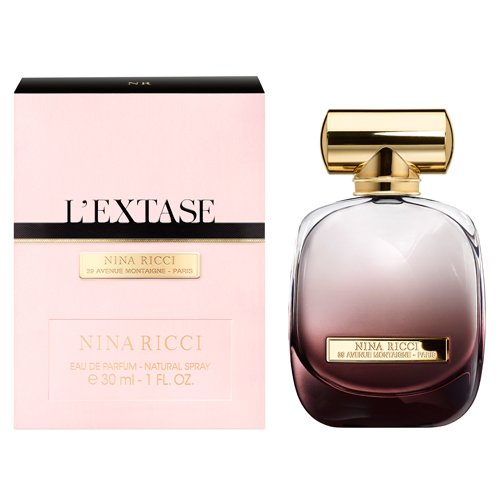 Nina Ricci Eau De Parfum Spray for Women, L'extase, 1 Ounce