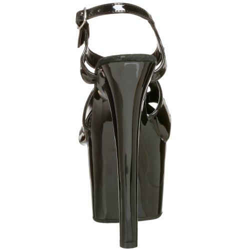 Pleaser SKY-330 - Zapatos con correa de tobillo para mujer Nero (Nero)