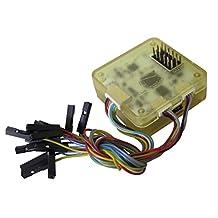 SODIAL(R) Multi-rotor Flight Controller CC3D 32Bits FC Protect Case QAV250 F550 F450 White