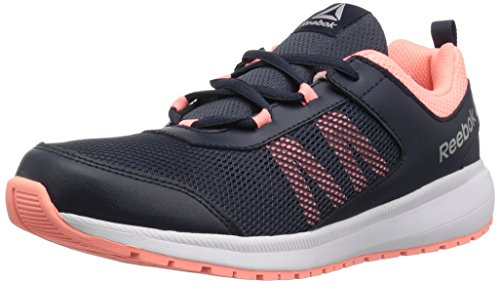 Reebok Unisex-Kids Road Supreme Sneaker,coll navy/digital pink/wh,5.5 M US Little Kid