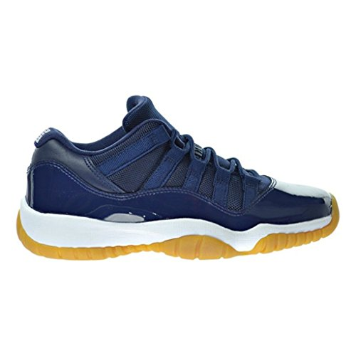 4b486b573034f8 AJ men s Air Jordan XI Retro 11 Low OG Midnight Navy Blue Gum - Import It  All
