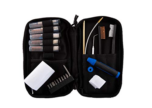 Gunmaster 32 Piece Universal Pistol Cleaning Field Kit