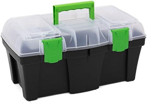 Caja de herramientas Greenbox – 18 Inch con bandeja porta ...
