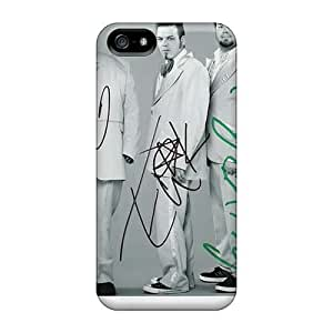 Shock-Absorbing Hard Phone Covers For Iphone 5/5s With Unique Design Stylish Bowling For Soup Band Image MarieFrancePitre