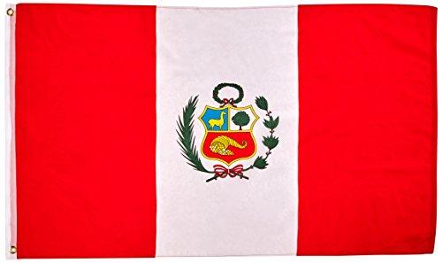 Peru National Flag 3 x 5 NEW 3x5 Large Peruvian Banner