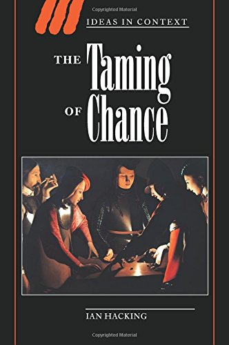 The Taming of Chance (Ideas in Context) [Ian Hacking] (Tapa Blanda)