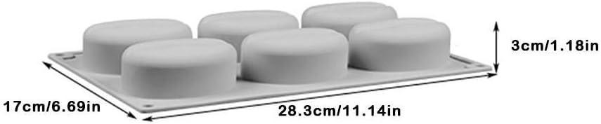 Rubyu Silikon Seifenformen 3D Seifen Gie/ßformen DIY Handgemachte Seife Form Kaffeebohnen DIY Form