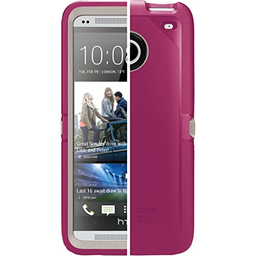 Otterbox Defender Series Case for HTC ONE M7, Bulk Packaging - Pink (Case Only)