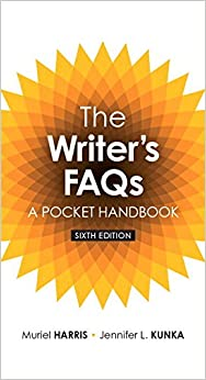 Writer's FAQs: A Pocket Handbook, The, Plus Mywritinglab Without Pearson Etext -- Access Card Package