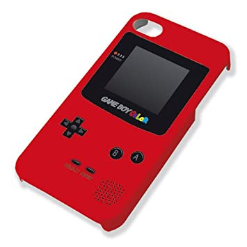Chamalow Shop Carcasa para iPhone 5 y 5S Game Boy Color Rojo ...