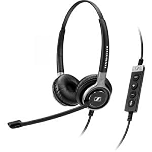 SENNHEISER ELECTRONIC #SC660 USB CTRL Dual Sided USB Stereo Headset / neodymium speaker for HD audio quality