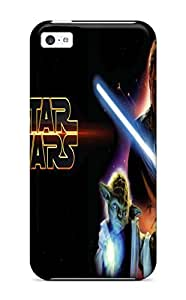 New DanRobertse Super Strong Star Wars Attack Clones Tpu Case Cover For Iphone 5c