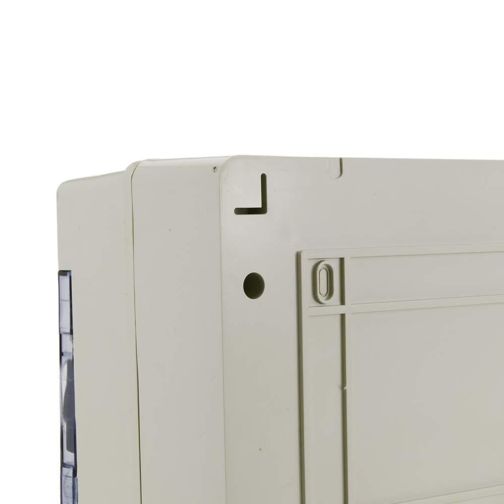 27 tama/ños blanco unidades de fuente de alimentaci/ón Caja de conexiones el/éctrica impermeable IP65 ABS SENRISE para proyectos electr/ónicos