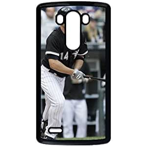 MLB&LG G3 Black Chicago White Sox Gift Holiday Christmas Gifts cell phone cases clear phone cases protectivefashion cell phone cases HMFN635586043