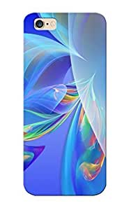 430f1a3454 Hot Fashion Design Case Cover For iphone 4s Protective Case (flowing Colorful Feathers)
