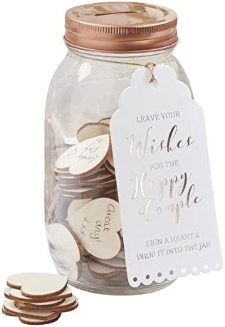 Amazon Com Wedding Guest Book Ideas Guest Book Alternatives Wishing Jar Arts Crafts Sewing