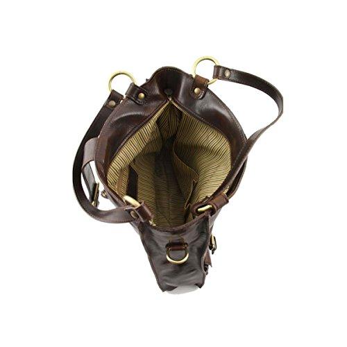 Tuscany Leather - Melissa - Borsa donna in pelle Miele - TL140928/3 Miele
