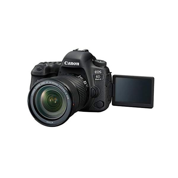 "RetinaPix Canon EOS 6D Mark II 26.2MP Digital SLR Camera + EF24-105 mm f/4L is II USM Lens with Digitek 550LW Tripod + Arctic Fox Camera Bag with Lens, 15.5"" Laptop & Tripod Holder"