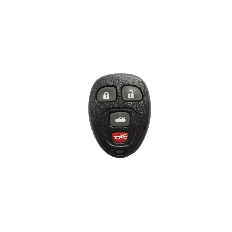 LotFancy New Car Keyless Entry Remote Start key FOB Clicker transmitter For GM Buick Lucerne Year 2006 2007 2008 2009 2010 2011, Chevrolet Impala 2006 2007 2008 2009 2010 2011, Cadillac DTS 2006 2007, Chevrolet Monte Carlo 2006 2007; Fit Part Numbers 20935