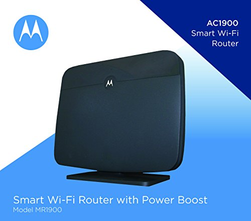 MOTOROLA AC1900 Router for Charter Spectrum, Smart Wi-Fi Gigabit Router with Power Boost, Model MR1900-CH by Motorola (Image #5)
