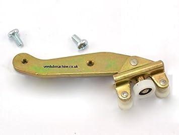 Izquierda Puerta Corredera rodillo guía con brazo y tornillos 701843405b y n0141485: Amazon.es: Coche y moto