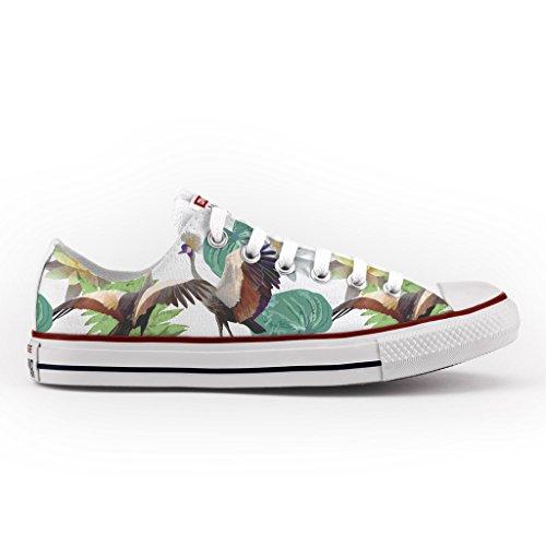 Converse All Star Personnalisé et Imprimés - chaussures à la main - produit Italien - Gru Crowned