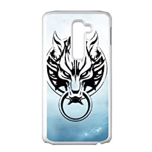 LG G2 Cell Phone Case White Final Fantasy Cell Phone Case Clear XPDSUNTR31226
