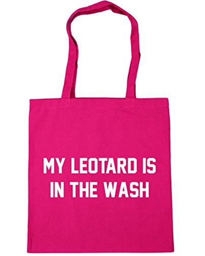 HippoWarehouse mi maillot es en el lavado gimnasia gimnasio playa bolsa de la compra bolsa 42cm x38cm, 10litros, granate (rojo) - 21427-TOTE-Burgundy fucsia