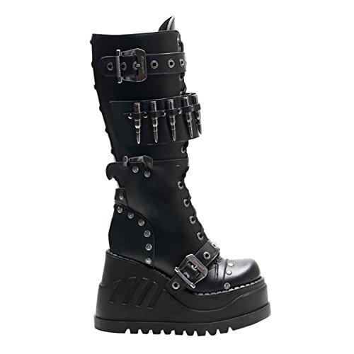 Demonia Stomp-314 - gothique Indutrial punk plateau bottes chaussures femmes 36-42