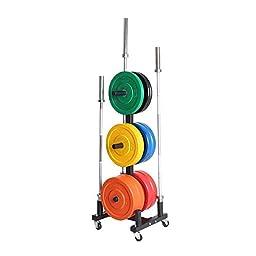 Xtreme Monkey Olympic Bumper Plate Holder W/Wheels
