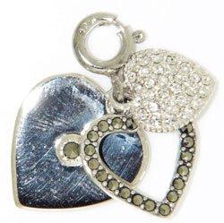(Judith Jack Multi-Heart Charm)