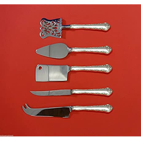 Peachtree Manor By Towle Sterling Silver Fruit Cheese Serving Set 5pc Custom