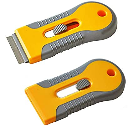 Amazon com: Barber Razor - Plastic Handy Razor Scraper Single Edge