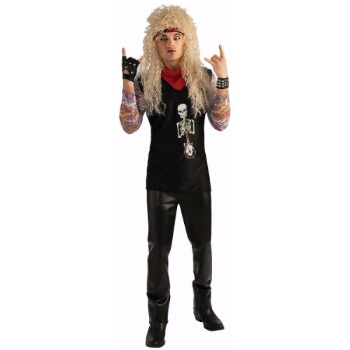 [Rubie's Costume Co. Men's 80's Hairband Costume, As Shown, Standard] (Metal Band Halloween Costumes)