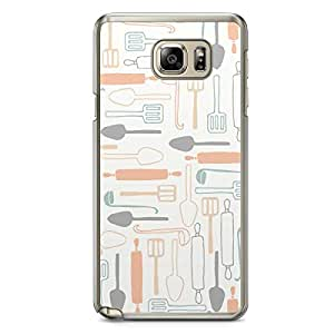 Kitchen 2 Samsung Galaxy Note 5 Transparent Edge Case - Bakery Collection