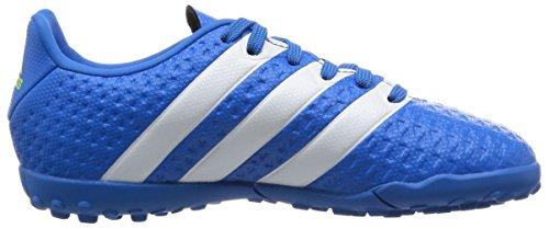 adidas Ace 16.4 TF J, Botas de Fútbol Unisex Bebé Azul / Blanco / Verde (Azuimp / Ftwbla / Seliso)