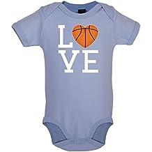 Dressdown I Love Basketball - Babygrow/Bodysuit - 0-18 Months