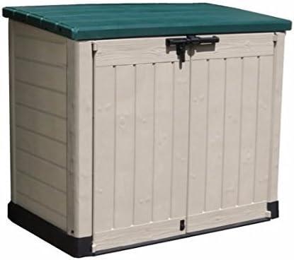Generic - Caja de Almacenamiento de Herramientas para jardín o jardín, para cobertizo, cobertizo, para Exteriores, Cubos de Basura, Herramientas, Bicicletas, Cubos de Basura: Amazon.es: Electrónica