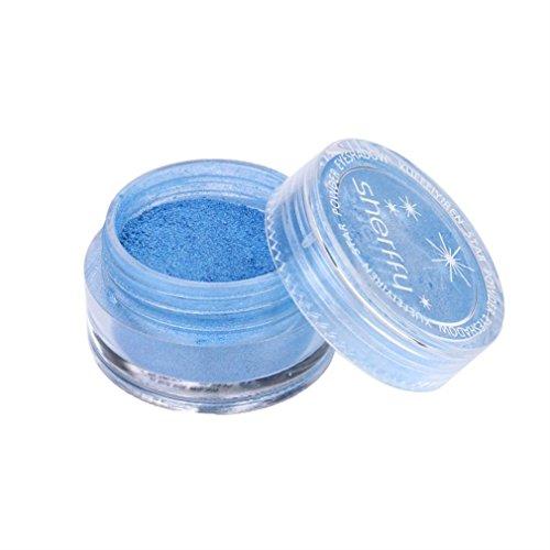 Price comparison product image Ourhomer Waterproof Lasting Flash Powder Small Laser Powder Nail Polish Nail Powder Eye Shadow Powder (H)