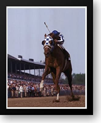 Secretariat Kentucky Derby #105 12x14 Framed Art Print