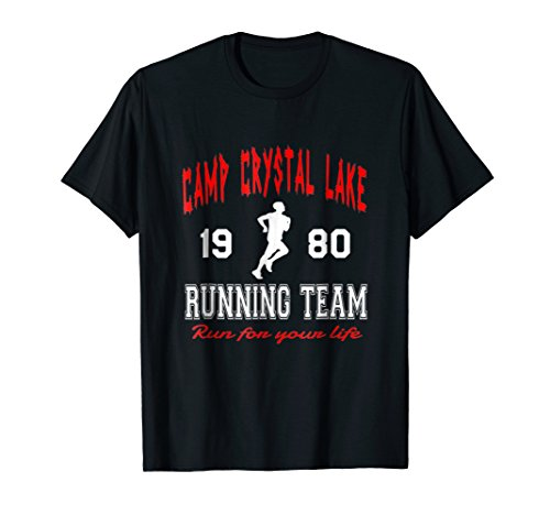 Camp Crystal Lake 1980 Running Team Run For Your Life Tshirt