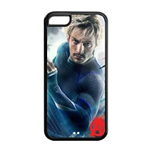 the Case Shop- Avengers 2 Avengers2 Age of Ultron Super Hero Quicksilver TPU Rubber Hard Back Case Silicone Cover Skin for iPhone 5C , i5cxq-767 hjbrhga1544