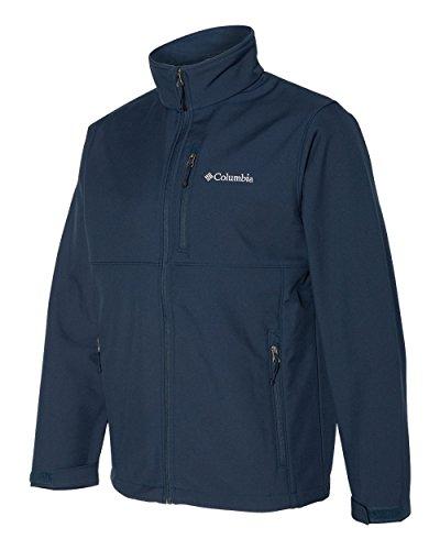 Columbia Men's Big & Tall Ascender Soft Shell Jacket (Collegiate Navy, 2X)