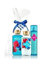 Bath & Bodyworks \'Morocco Orchid & Pink Amber\' - 3 Piece Set