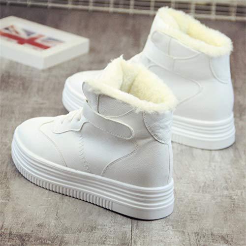 KPHY Damenschuhe Damenschuhe Wintersport Casual Schuhen SAMT SAMT SAMT Hohe Schuhe Baumwolle Schuhe Höhere d9e38e