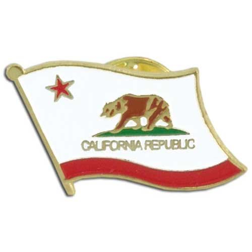 US Flag Store California Flag Lapel Pin (State Lapel Pins)