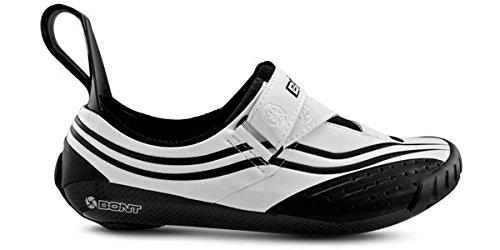 Nero 44 Triathlon BONT Ciclismo Sub da Scarpe 8 Bianco Taglia q4Aw0g1x